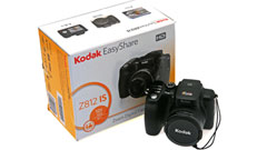 Kodak EasyShare Z812 IS: zoom ottico 12x