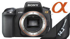 Sony Alpha 350: ecco la reflex digitale  'bridge'