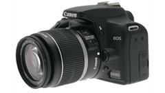Canon Eos 1000D, tre zeri per l'entry level di casa Canon