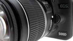 Canon Eos 500D: la reflex digitale cerca il giusto mezzo