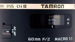 Tamron SP 60 mm F/2.0 Di-II per Canon