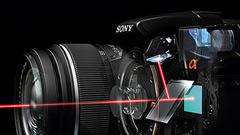 Sony Alpha 33 e 55 con tecnologia Translucent Mirror
