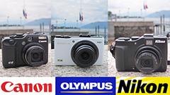 Canon G12, Nikon P7000, Olympus XZ-1: compatte premium a confronto