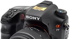 Sony Alpha A77: il passo più lungo della gamba?