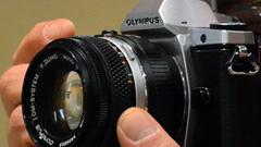 Olympus OM-D, vintage digitale: primo contatto