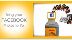 Obiettivo Kodak: riportare la gente a stampare, anche grazie a Facebook