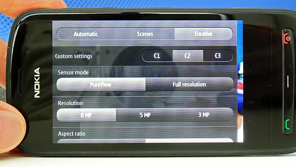 nokia pure view UI Nokia 808 PureView Smartphone o Fotocamera?