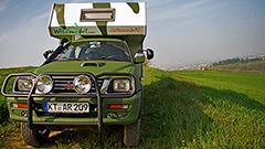 365 giorni, 36.500Km, due fotografi e un pickup camperizzato: ecco Wildmobil