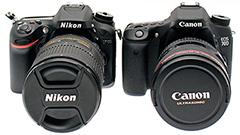 Nikon D7100 e Canon EOS 70D: reflex a confronto
