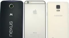Nexus 6, Galaxy Note 4 e iPhone 6 Plus: i migliori phablet a confronto