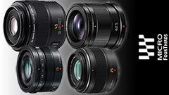 Quattro obiettivi top per il sistema Micro Quattro Terzi a meno di 1000 Euro
