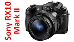 Sony RX10 Mark II, superzoom di qualità