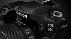 Canon EOS 80D, ecco la nuova reflex prosumer APS-C erede della 70D