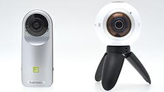 Samsung Gear 360 ed LG 360 Cam: due videocamere che fanno girare la testa