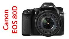 Canon EOS 80D, perfetta per l'appassionato di foto e video