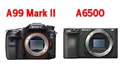 Sony A6500 e A99 Mark II, i primi scatti