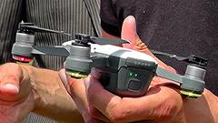 DJI Spark: primo incontro dal vivo con il drone che fa i selfie (ma anche molto altro)