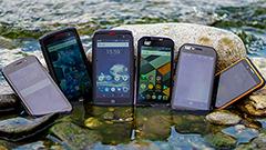 5 (+1) smartphone che non temono sabbia, mare e vita all'aria aperta