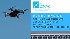 Dal 5 marzo basta l'attestato online per far volare i droni in operazioni non critiche