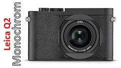 Leica Q2 Monochrom, B/N in forma compatta