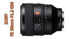 FE 50mm F1.2 GM, il più luminoso del catalogo Sony