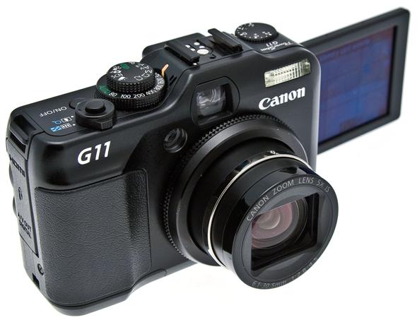 Canon g11 compatta ma con assi da giocare versione for Macchina fotografica compatta