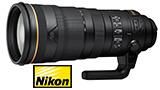 NIKKOR 120-300 f/2.8E FL ED SR VR, 10.990€ per il nuovo telezoom Nikon