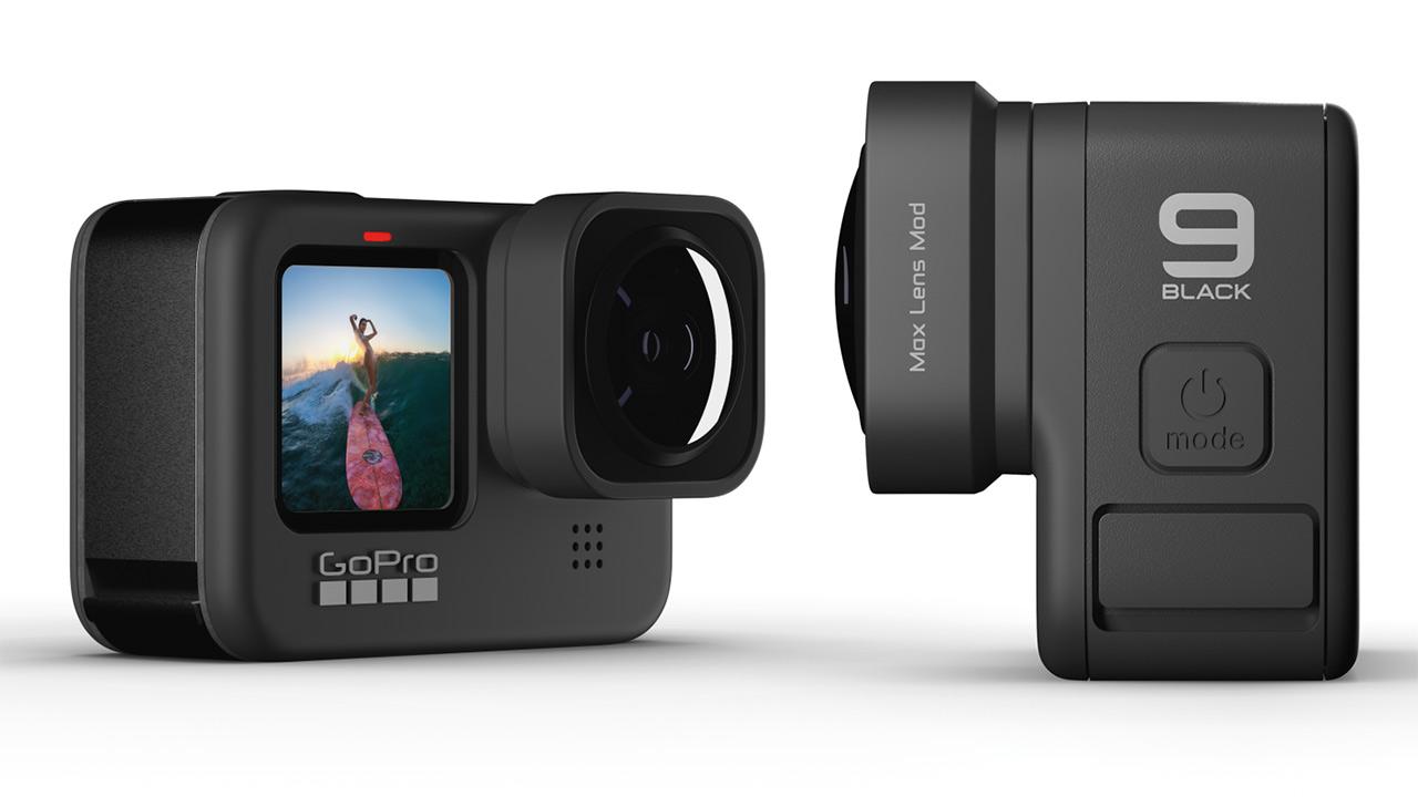Mod per obiettivo Max per GoPro HERO9 Black è ora disponibile