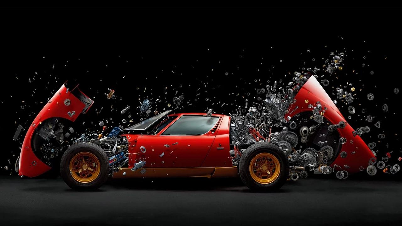 Lamborghini Miura Esplosa Per Una Foto Spettacolare Fotografi