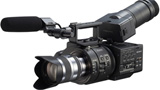 Nuova cinepresa digitale Sony Super Slow Motion Full HD NEX-FS700 4K-ready