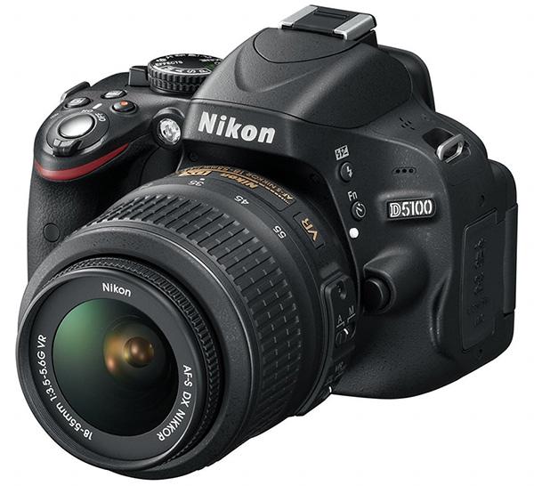 Reflex Nikon D5100 con garanzia Nital di 4 anni e 18-55VR a soli 359 ...