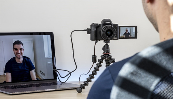 Canon EOS Webcam Utility annuncio Windows