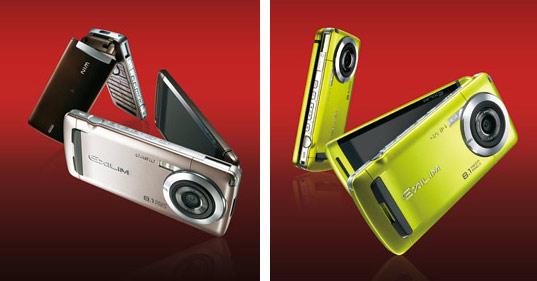 Casio: cellulare Exilim da 8 megapixel e ottica 28mm ...