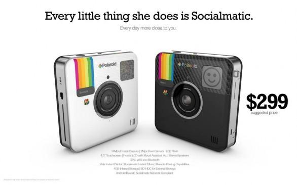 Socialmatic Camera: l'anello d'unione tra Polaroid ed ...